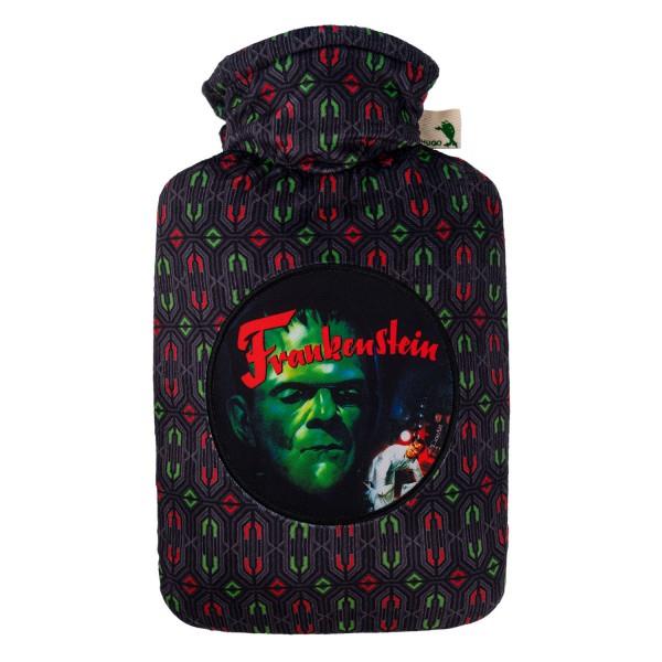 """Wärmflasche mit Klassik 1,8 L Nickibezug """"Movie"""" Frankenstein"""