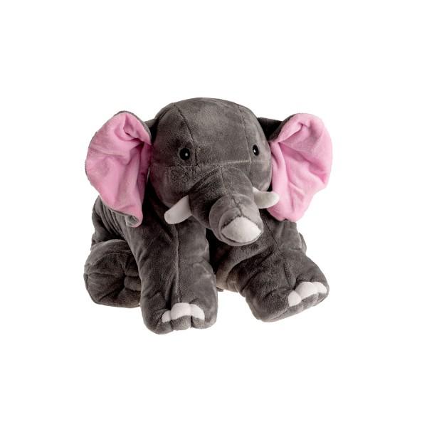 Wärmflasche Klassik 1,8 L Kuschelkissen Elefant
