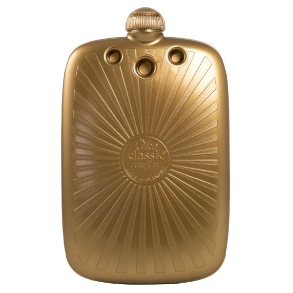 Öko-Wärmflasche 2,0 L Classic Comfort goldfarben