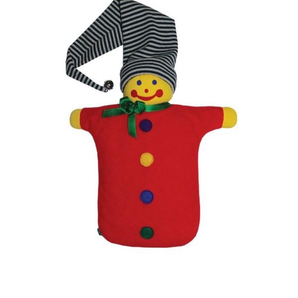 Handpuppe Kasperle mit Kinder-Öko-Wärmflasche