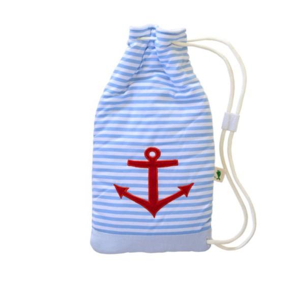 "Kinder Öko-Wärmflasche Matchsack ""Anker"""