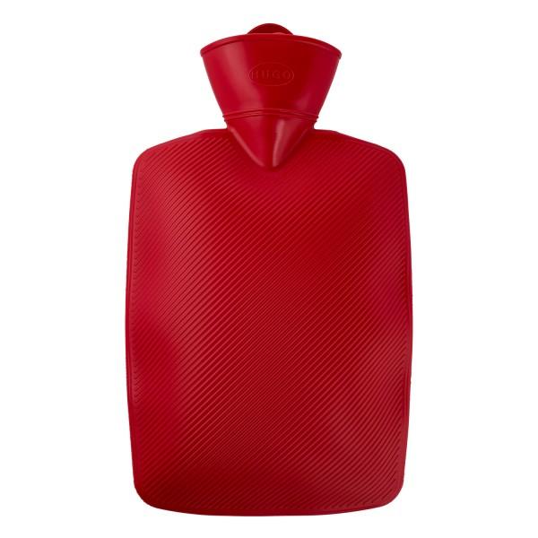 Wärmflasche Klassik 1,8 L rot
