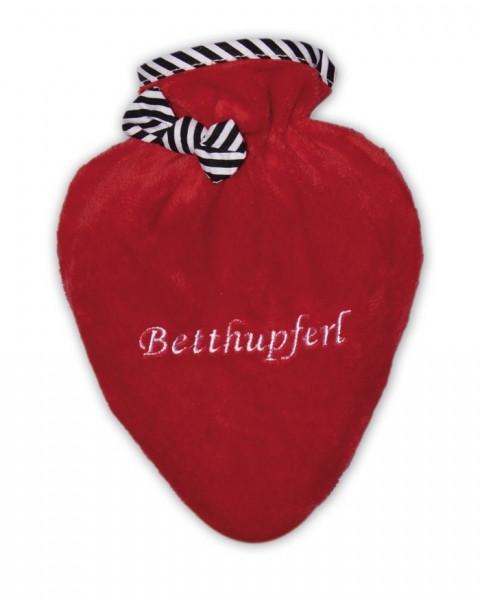Wärmflasche Mini-Herz Betthupferl