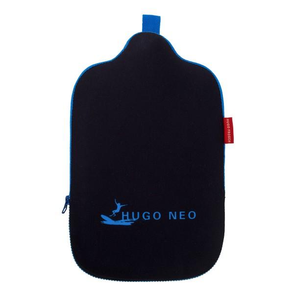 Öko-Wärmflasche 2,0 L mit Neoprenbezug Hugo Neo