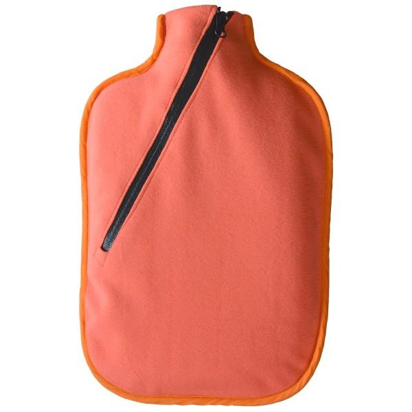 Öko-Wärmflasche Softshell lachsfarben