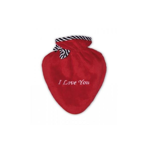 Wärmflasche Mini-Herz I Love you