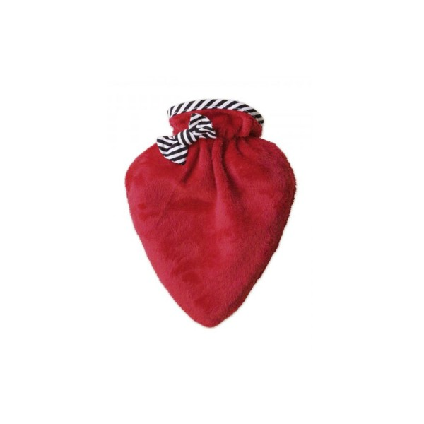 Wärmflasche Mini-Herz neutral